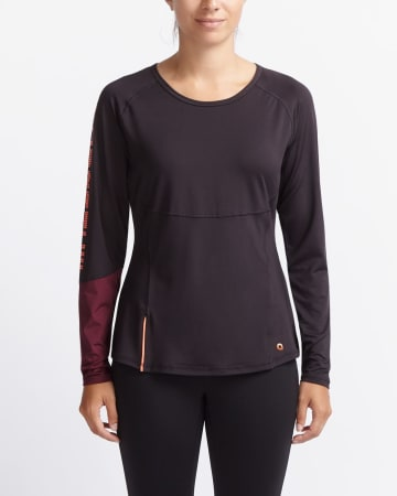 Hyba Long Sleeve Boot Camp Tee