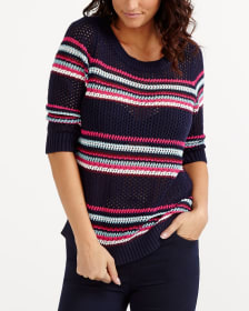 Open Stitch Sweater