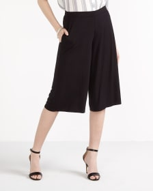 Knit Gaucho Pants