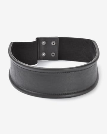 Stretchable Faux Leather Belt