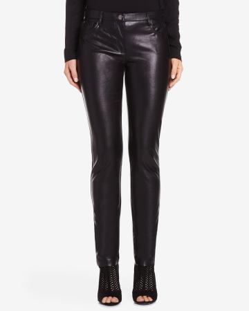 Petite Faux Leather Pants