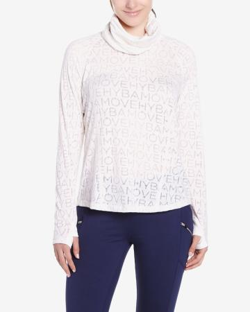 Hyba Printed Long Sleeve Tee