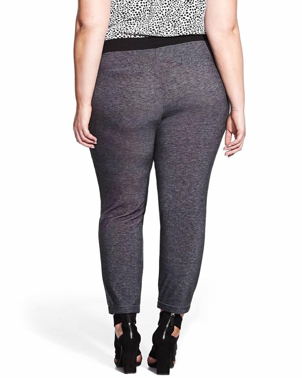 pantalon de jogging chic tailles plus tailles plus reitmans. Black Bedroom Furniture Sets. Home Design Ideas