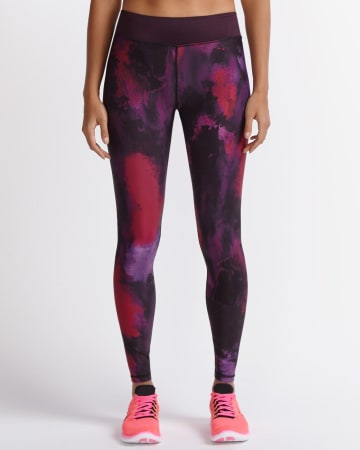Hyba Printed Fast Track Legging