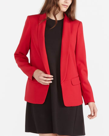 Long Open Blazer