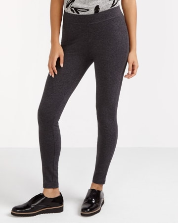 Solid Cotton Leggings