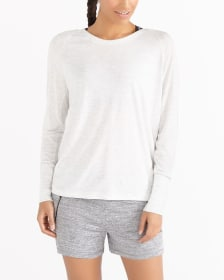 Hyba Long Sleeve Wrap Top