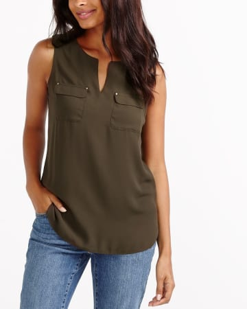 Pocket Mix Media Cami