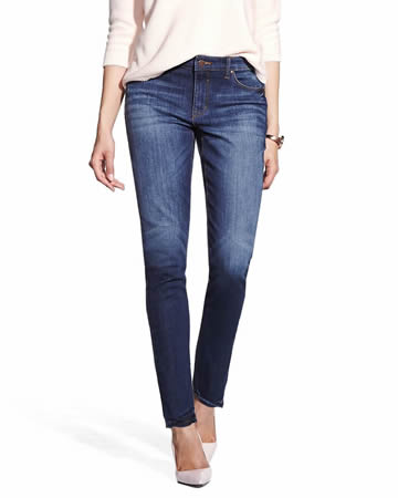 "28"" Petite Authentic Skinny Jeans"