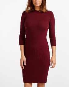 3/4 Sleeve Dress