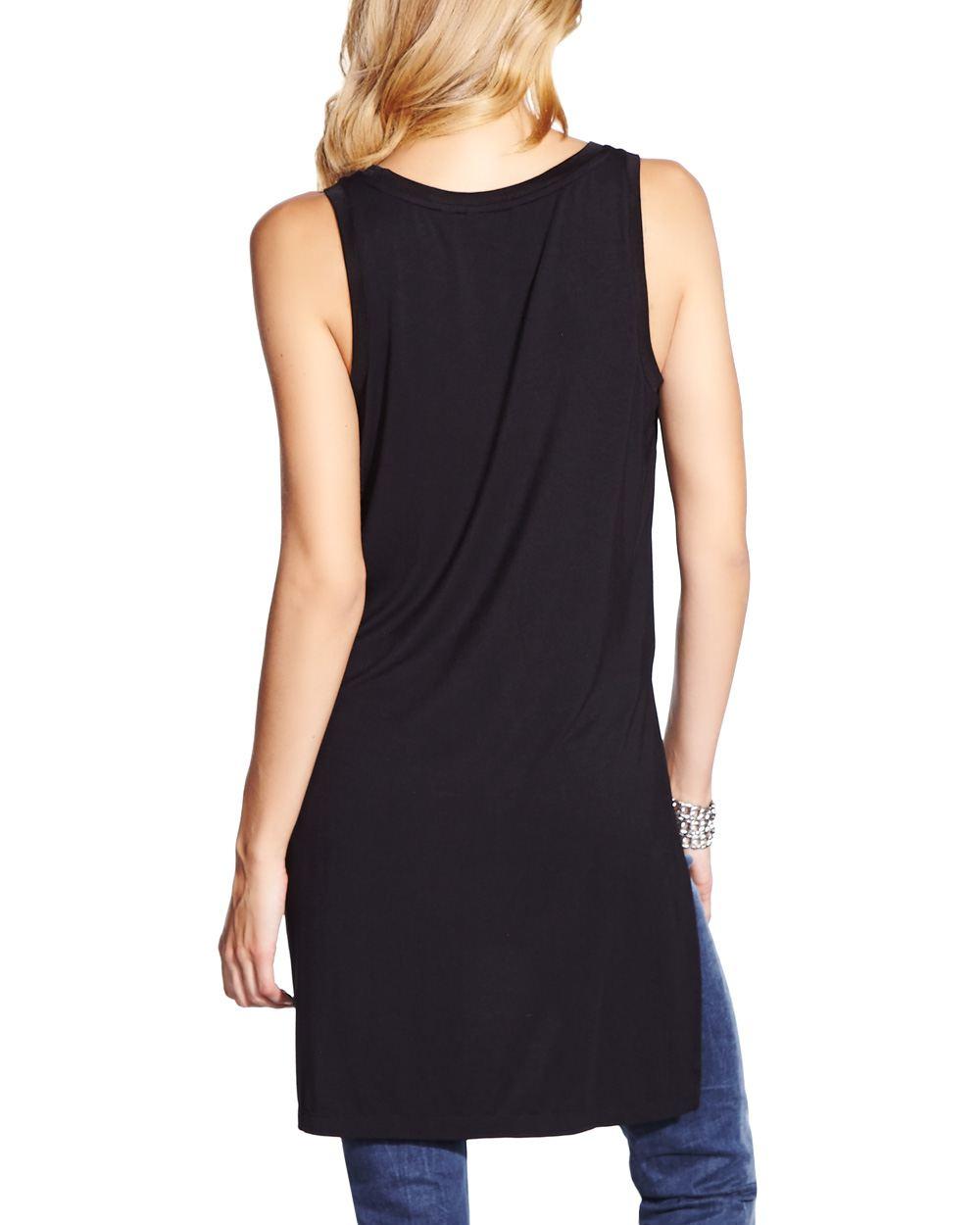 long sleeveless t shirt women reitmans