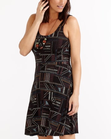 Three-Strap Printed Sundress