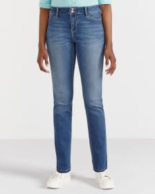 Only Denim Straight Leg Jeans