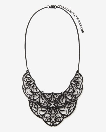 Lace Statement Necklace