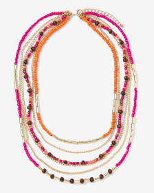 6-Row Necklace