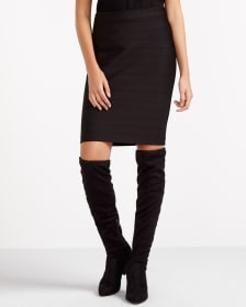 Willow & Thread Pencil Sculpting Skirt