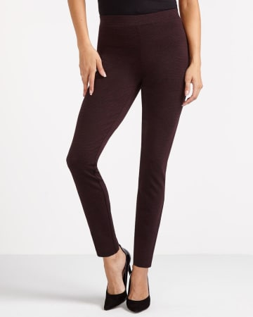 The Petite Modern Stretch Patterned Leggings