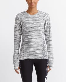Hyba Space Dye Long Sleeve Tee