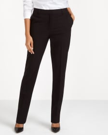 Straight Leg High Rise Pants