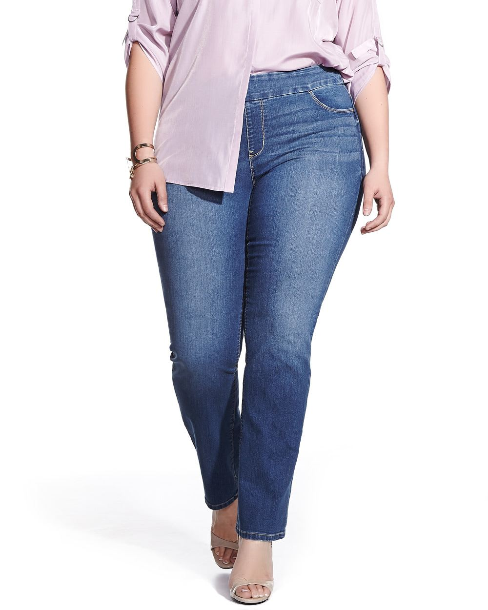 Plus Size Straight Leg Original Comfort Jeans | Plus Sizes | Reitmans