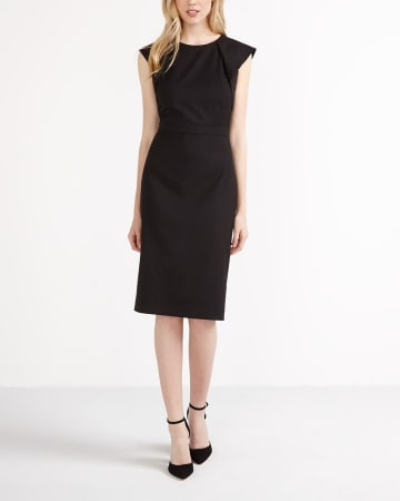 Willow & Thread Cap Sleeve Sheath Dress
