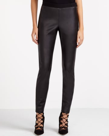 Willow & Thread Faux Leather Leggings
