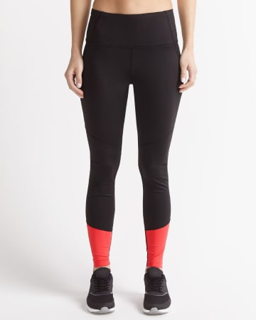 Hyba Colourblock Mesh Legging