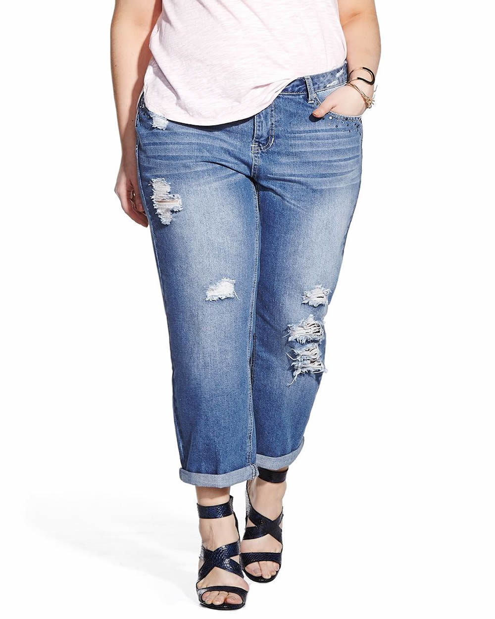 Find Trendy Plus Size Boyfriend Jeans from maurices At maurices we pride ourselves in having the best jeans for all shapes and sizes, especially for plus size women. maurices jeans are extraordinarily comfortable and flattering in every way.