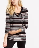 Long Sleeve Ribbed Sweater