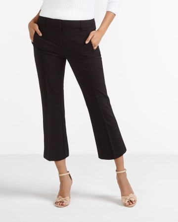 Cropped Flare Pants
