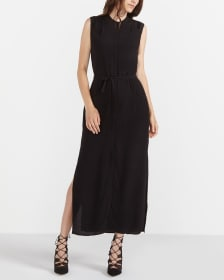 Willow & Thread Button-Down Maxi Dress