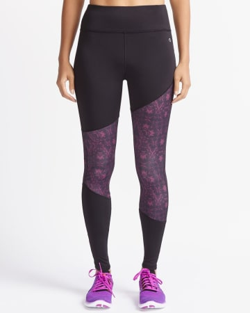 Hyba Asymmetric Colourblock Legging