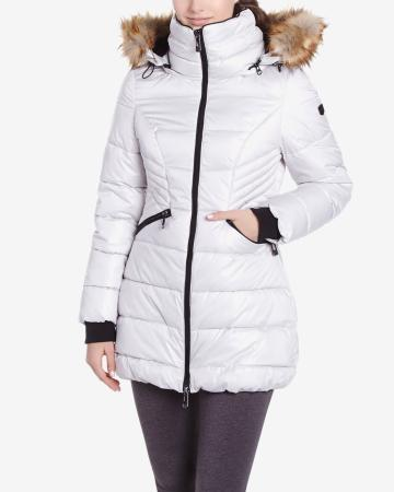 Noize Long Quilted Down Coat