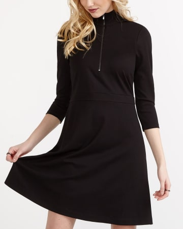 Willow & Thread Mock Neck Dress