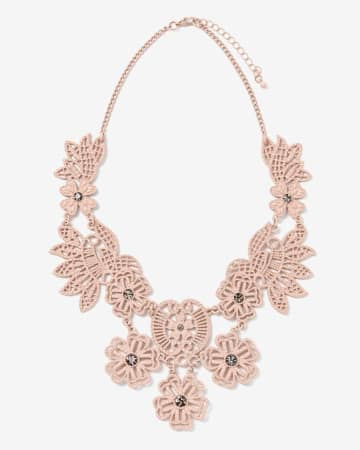 Short Flower Necklace