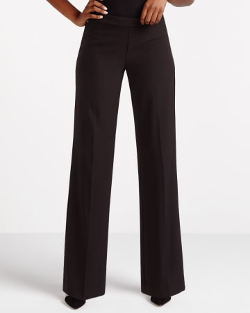 Petite Wide Leg Dress Pants