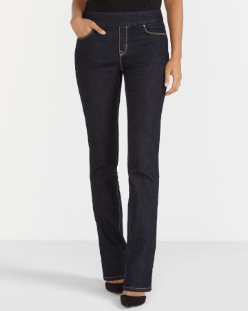 Ultra Petite Original Comfort Boot Cut Jeans