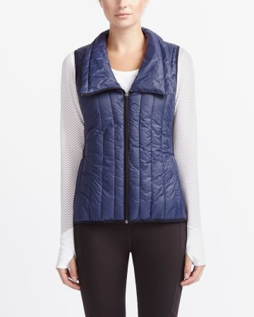 Hyba Asymmetric Down Vest