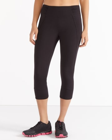 Hyba Shirred Capri Legging