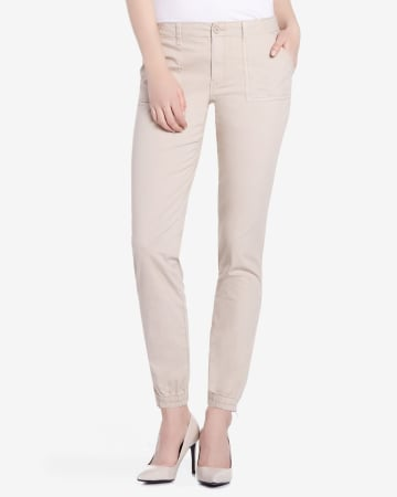 Casual Pants with Elastic Cuffs