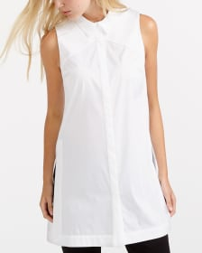 Willow & Thread Long Sleeveless Shirt