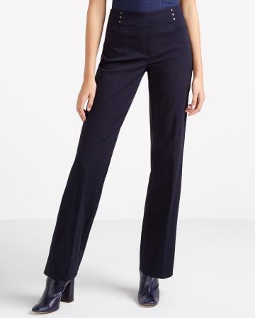 Ultra Petite Boot Cut Comfort Pants