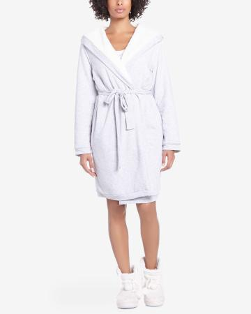 Reversible Robe with Hood