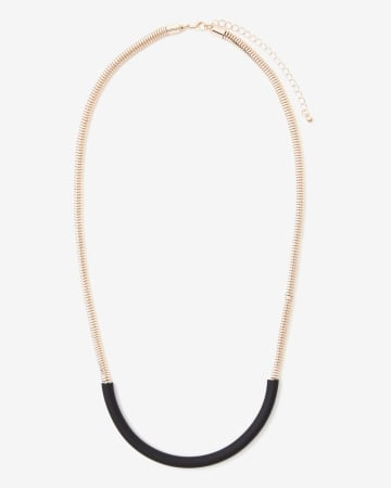 Long Rubber Necklace