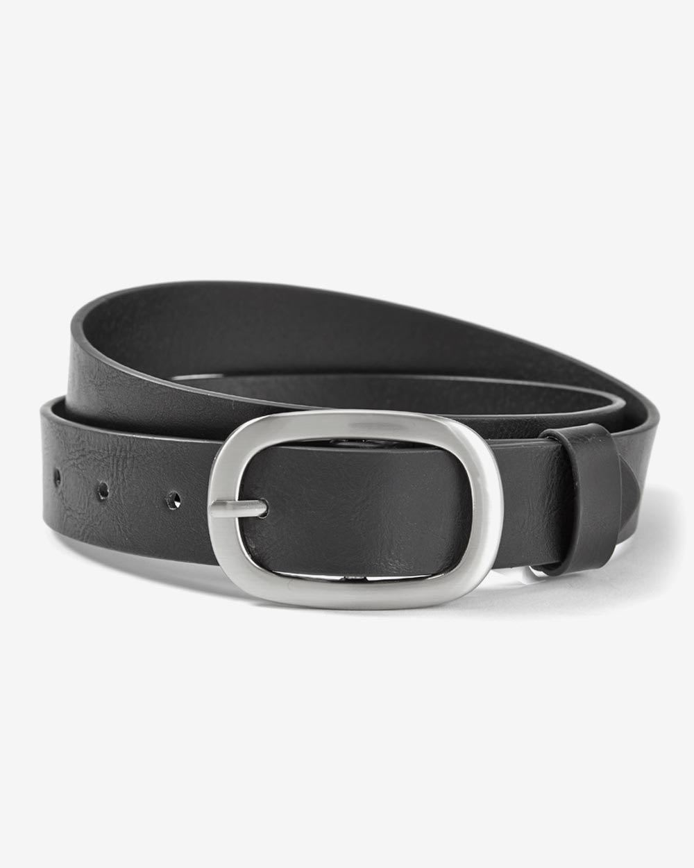 faux leather belt reitmans