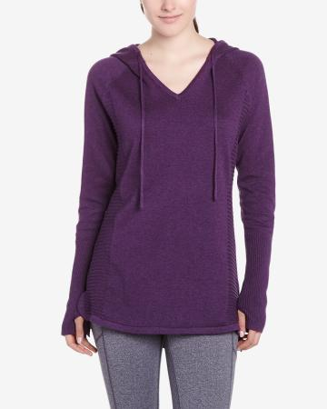 Hyba Long Hooded Sweater
