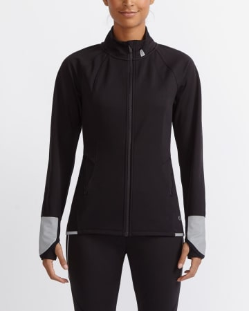 Hyba Windproof Reflective Jacket