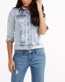 Light Wash Jean Jacket