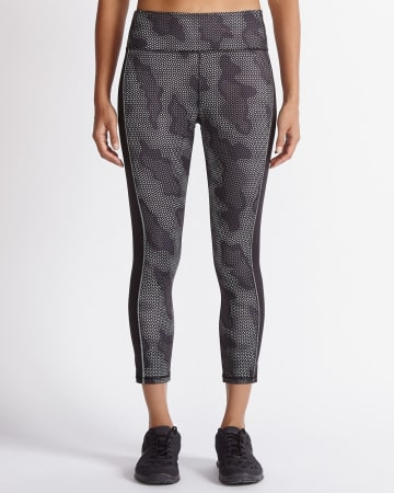 Hyba Camo Cropped Legging