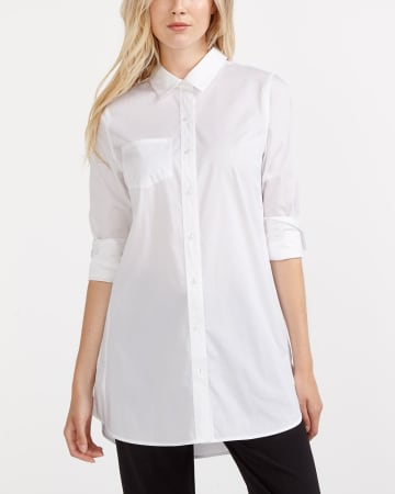 Willow & Thread Poplin Solid Shirt